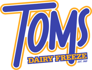 Toms Dairy Freeze Mobile Logo